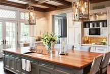 Dream Kitchen / Ever dream of the perfect kitchen? Here's some inspiration to get you started!