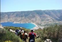 Trekking in Andros / Discovering hidden trekking treasures in Andros, Greece
