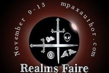 Realms Faire / Annual event celebrating fiction. Games, prize, and fun. Come get your geek on.