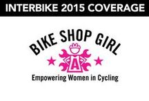 2015 Interbike Products and Coverage / Bike Shop Girl's 2015 Interbike Bicycle Products and Coverage.   Latest road bicycles, mountain bikes, commuter bikes, women's cycling gear, bike lights, bike locks, fenders, etc.
