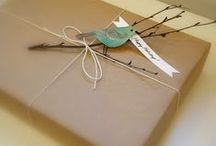 Gift Wrap Ideas / by Hippocampus Whitehair
