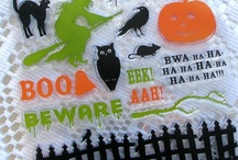 Halloween Cards and Crafts / by Alyson MacDonald ~ Stampin' Up! Demonstrator