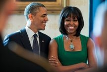 The Obamas / by Jessica Bryant