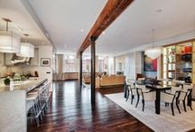 Lofty Living / design ideas for the NYC loft I'll never own.  It's always fun to dream~~~ / by Blair Dailey