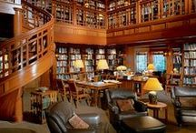 Home: Living-room & Library Ideas / by Katelyn Lyon