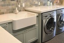 Home: Mudroom & Laundry room ideas / by Katelyn Lyon