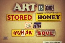 """Artist & Their Art: / """"Folk art is the artistic expression of the people."""" Michael Miller / by Shirley Aston-Andre Golden"""