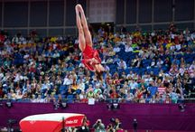 gymnastics and cheer / by Shelby Stammet