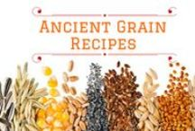 Ancient Grains Recipes / Ancient Grains have been around for centuries and they are a much healthier option to include in your daily diet, here are some Ancient Grain recipes to share and enjoy.