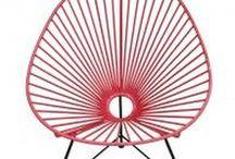 Sillas en madera y metal. / Una colección de sillas de madera y metal para tu hogar.