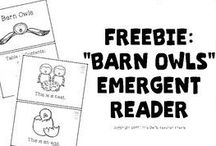 First of the Month Freebies / A collection of free resources from Little Owl's Teacher Treats. New resources are added on the first of every month!