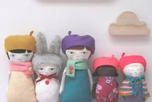 Amazing Dolls / #doll #plush #amigurumi #folk #toy #rag #doll  ❤ visit my store : www.cocoflower.net