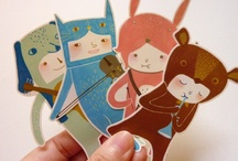 Nice paper dollz / #paperdoll #paper #doll #folk #art #artist  ❤ visit my store : www.cocoflower.net