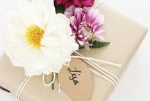 Paper good Wrap Tag / #paper #good #wrapping #tag #christmas #gift #wrap  / by Coco Flower