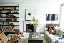 Apartment Ideas / Apartment decor, decorating, small space decorating and interior design / by Kristin Koch