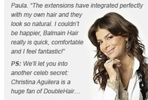 Celebrities Balmain Hair Extensions / Celebrity's who love Balmain Hair Extensions !