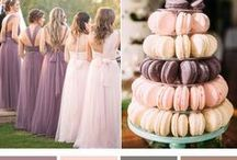 Wedding Color Schemes / A perfect place for wedding color inspiration