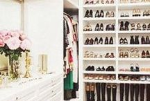 Closets to Die For / closet organization and ideas