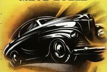 vintage car & parts ads / by D'Anna Pledger