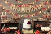 Fall Wedding Ideas / Fun fall wedding ideas for your perfect Colorado wedding