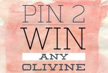 Win Olivine / This is where you can find juicy opportunities to win our glittering beauty rituals.