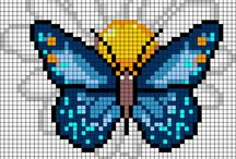 Bead it with perler / Perler bead patterns from cross stitch as well / by Brittany Church