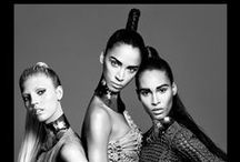 BALMAIN HAIR SPRING SUMMER 2016 CAMPAIGN / Balmain Paris Hair Couture presents the Spring/Summer 2016 Campaign starring Balmain muses Noémie Lenoir, Cindy Bruna and Devon Windsor. Under creative direction of Hair Master Nabil Harlow. Photographer Terry Tsiolis, Designer Olivier Rousteing for Balmain Paris, Make up Frankie Boyd, Manicurist Dawn Sterling, Producer Victoria Pavon for PavonNYC.