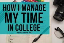 Time Management Tips / Get your semester off on the right foot.  Learn and apply these time management tips!