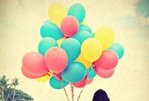 Balloons let´s fly AWAY! / by Marce Sarmiento
