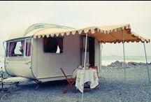 caravans/camping / by Amber Kaye