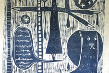 WOODCUTS / by Frances Crum