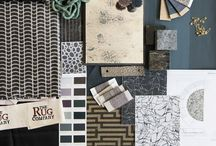 Mood boards. / Moodboards, style, design, colours, inspiration.