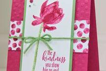 Card Idea's / by Wendy Hammer Aungst