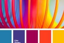 Color Palettes! / by KB Konnected