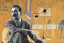 "Arshile Gorky / Arshile Gorky was an Armenian-American painter, who had a seminal influence on Abstract Expressionism. As such, his works were often speculated to have been informed by the suffering and loss he experienced of the Armenian Genocide. Gorky's contributions to American and world art are difficult to overestimate. His work as lyrical abstraction was a ""new language. He ""lit the way for two generations of American artists"". / by Tomás Ribas I"