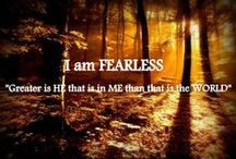 One Word ~ My Year / ... Fearless / by Simone Black