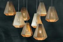 Clustered Lighting / A collection of grouped, clustered and bunched lighting installations.