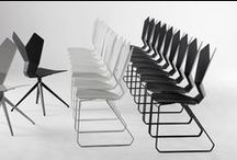 Y Chair / A product which balances the threemost important requirements demandedof a contract chair: durability, a striking silhouette and an ergonomic form.