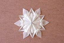Origami / Papírból készült díszek, ajándék.. stb.