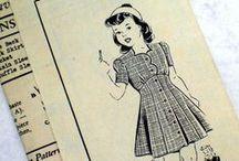 Design Styles: 1940's children's clothes