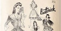 Historical Costuming / How fashion concepts are recycled or perceived in different eras.