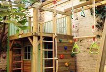 Домики и игровые площадки для детей