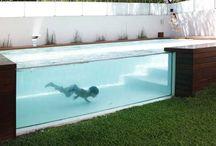 outdoor spaces / backyards, gardens, decks, pools, architecture