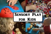Sensory Ideas / by Wendy Lowder Harris