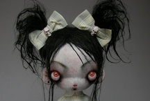 Doll Art / Okay, I know... but a boy can like dolls, too / by Stephen Kauble