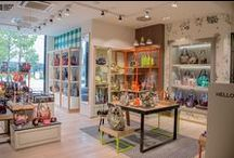 GGL STORES / That's what our stores look like. Come in and say hi! ;)