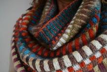 Knit: scarf, cap etc / by Lena Griffa