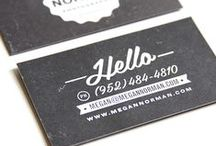 business cards / by Bailey Roedl-Nehls