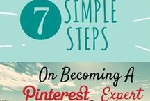 Top Pinterest Blogs & Tips / Select bloggers and social media folks who create the best informative and educational Pinterest posts, images and infographs.