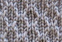 Knit: stitch, patterns, tips etc / by Lena Griffa